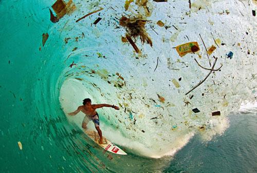 触目惊心的地球垃圾 轮胎也污染