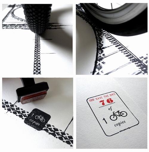 手绘轮胎艺术图案