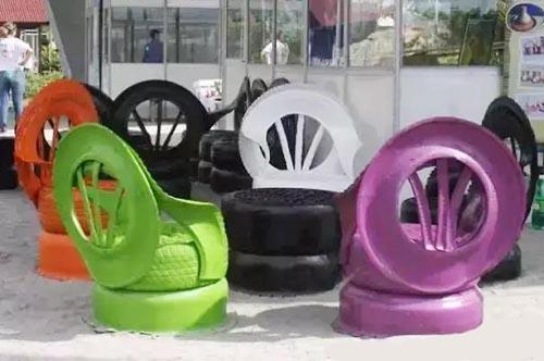 旧衣服翻新视频_旧轮胎的N种妙用 - 轮胎世界网