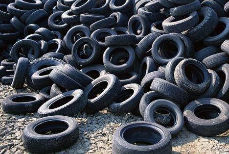 """中国过半废旧轮胎未回收利用""""/"""