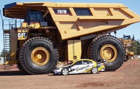 世界最大的矿用自卸卡车