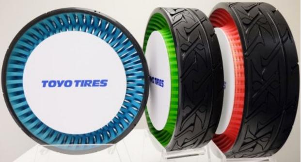 东洋橡胶展出轮胎新产品和技术